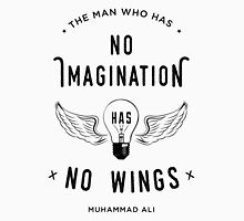 Muhammad Ali Wings Quote Unisex T-Shirt