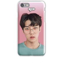 Yehet Sehun  iPhone Case/Skin