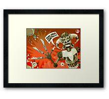 Bladebot! Framed Print