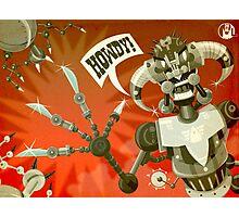 Bladebot! Photographic Print