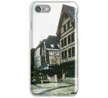 Place de Alexandre possibly Chalon sur Marne 19840506 0036 iPhone Case/Skin