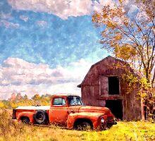 """""""Rural Americana"""" by SteelCityArtist"""