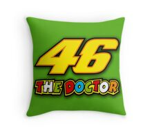 The Doctor - 46 Throw Pillow
