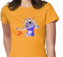 Shanti (peace) Womens Fitted T-Shirt