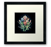 Cowabunga Framed Print