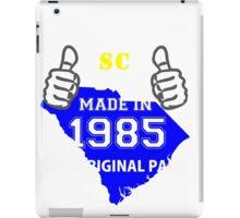 This South Carolina Guy Made in 1985 iPad Case/Skin
