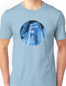 Cobalt Skyscrapers Unisex T-Shirt
