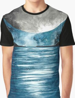 Full Moon Graphic T-Shirt