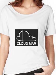 Cloud Map logo Women's Relaxed Fit T-Shirt