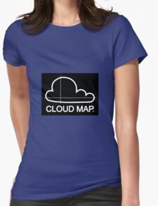 Cloud Map logo Womens Fitted T-Shirt