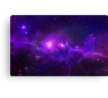 Mysterious Galaxy Canvas Print