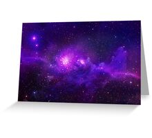 Mysterious Galaxy Greeting Card