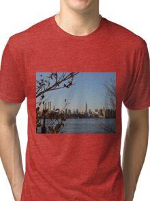 New York Skyline Tri-blend T-Shirt