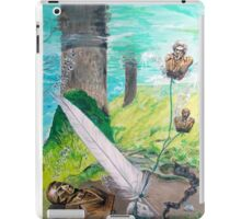 The feather and the Word iPad Case/Skin