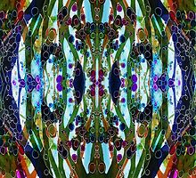 Droplets Of Color Mirror by Melinda Firestone-White