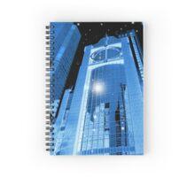 Cobalt Skyscrapers Spiral Notebook