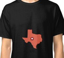 Texas State Heart Classic T-Shirt