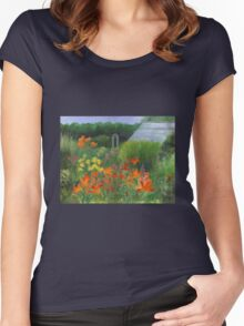 Vermont Garden Women's Fitted Scoop T-Shirt