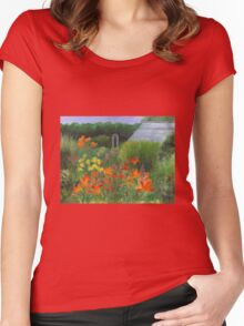 Vermont Garden Women's Fitted Scoop T-Shirt