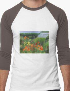 Vermont Garden Men's Baseball ¾ T-Shirt