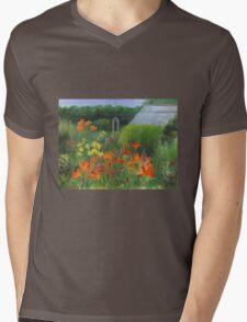Vermont Garden Mens V-Neck T-Shirt