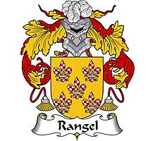 Rangel Coat of Arms/ Rangel Family Crest Photographic Print