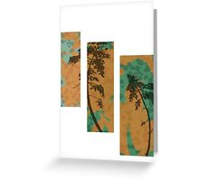 TriptychTree  Greeting Card