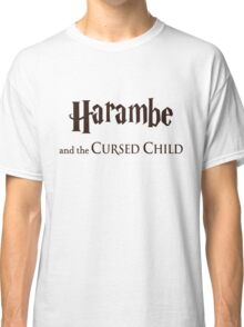 Harambe And The Cursed Child Classic T-Shirt