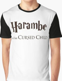 Harambe And The Cursed Child Graphic T-Shirt