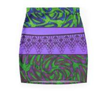 Purple Confusion Mini Skirt