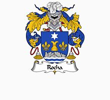 Rocha Coat of Arms/ Rocha Family Crest Unisex T-Shirt