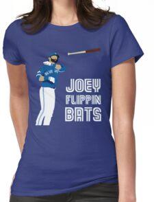 Joey flippin bats Womens Fitted T-Shirt