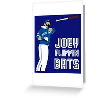 Joey flippin bats Greeting Card