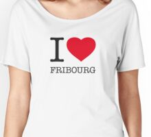 I ♥ FRIBOURG Women's Relaxed Fit T-Shirt