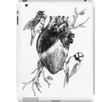Bird Heart Retro iPad Case/Skin