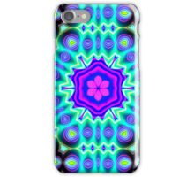 CVD0099 Bent Ask Psychedelic Art Colorful Vivid iPhone Case/Skin