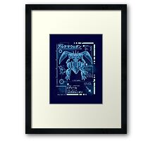 Ultimate Blueprint Framed Print
