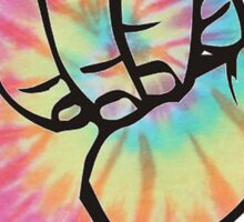 Tie Dye Shaka Sticker