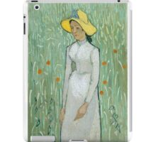 Girl In White - Vincent van Gogh iPad Case/Skin