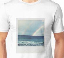 Double Rainbow Polaroid Unisex T-Shirt