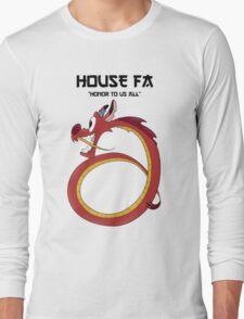 House Fa Long Sleeve T-Shirt