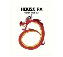 House Fa Art Print