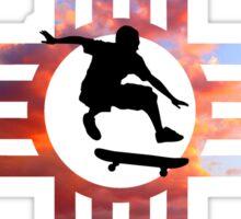 Skate New Mexico Zia Sky Sticker