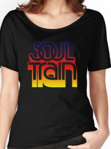 SOUL TRAIN (SUNSET) Women's Relaxed Fit T-Shirt