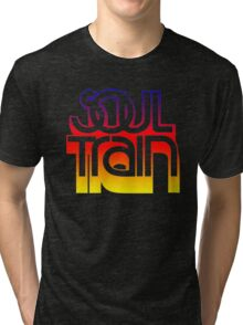 SOUL TRAIN (SUNSET) Tri-blend T-Shirt