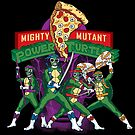 Mighty Mutant Power Turtles by LocoRoboCo