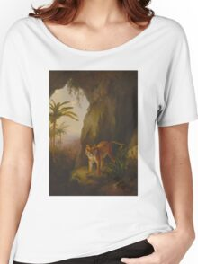 Tiger in a Cave Women's Relaxed Fit T-Shirt