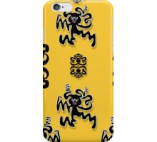 Disco dancing in the  tribal nature  iPhone Case/Skin