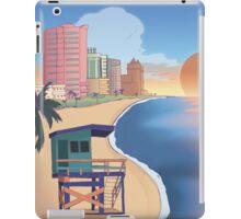 Miami Postcard iPad Case/Skin