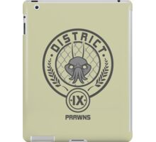 Prawn District (HG Parody) iPad Case/Skin